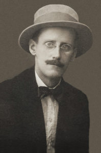 James Joyce portrait