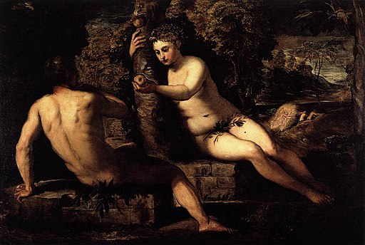 Tintoretto,_Jacopo_-_The_Temptation_of_Adam_-_1551-52