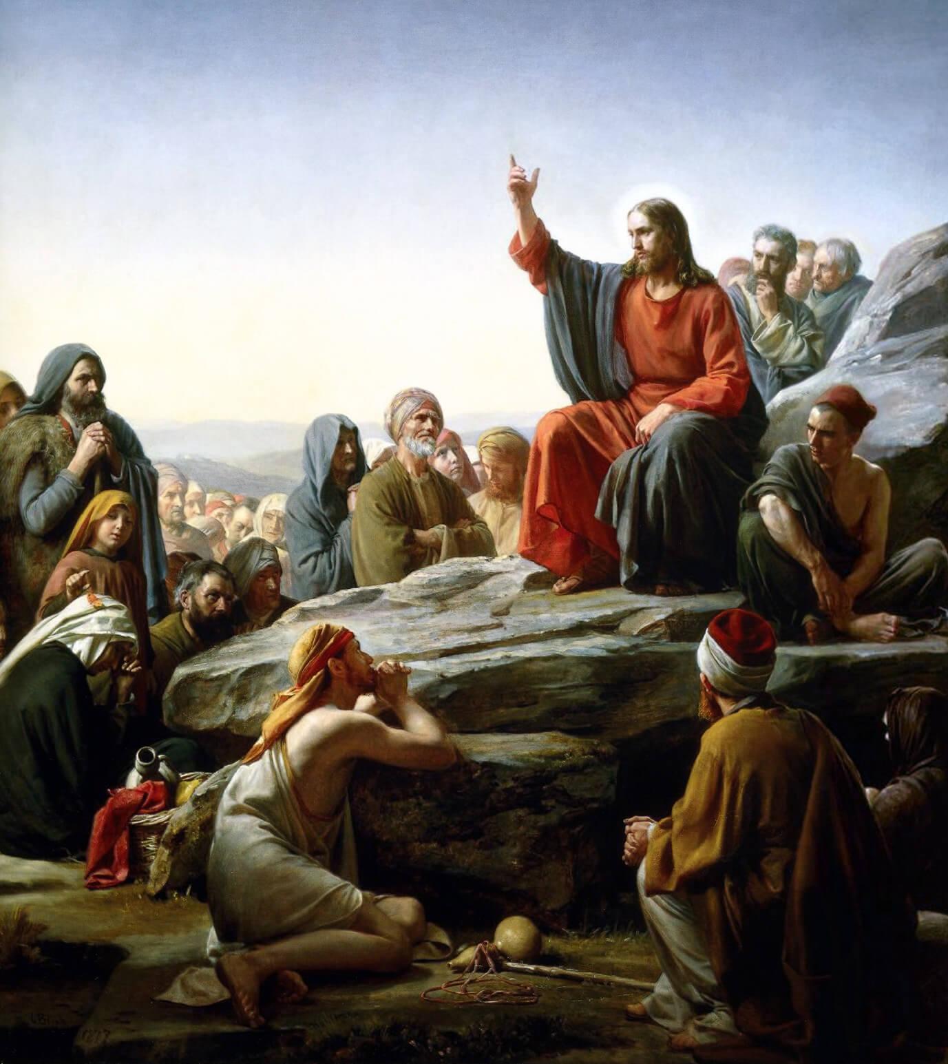 christ sermon on food